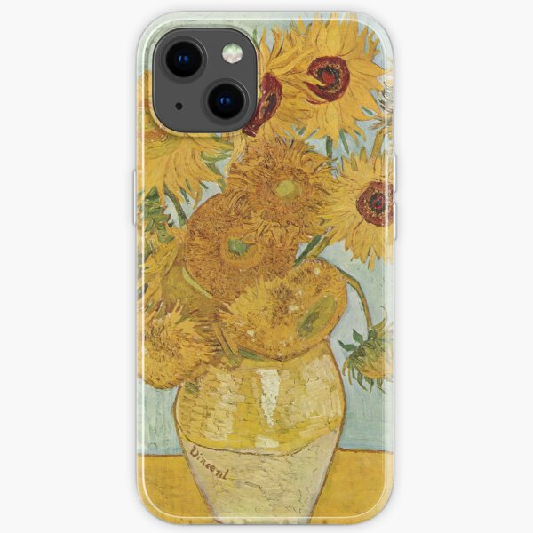 Sunflowers - Van Gogh iPhone Soft Case