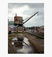 Cockatoo Island Crane Photographic Print