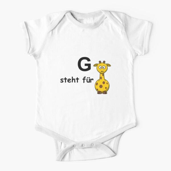 G steht für ... Short Sleeve Baby One-Piece
