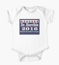 Vote dr. horrible 2016 One Piece - Short Sleeve