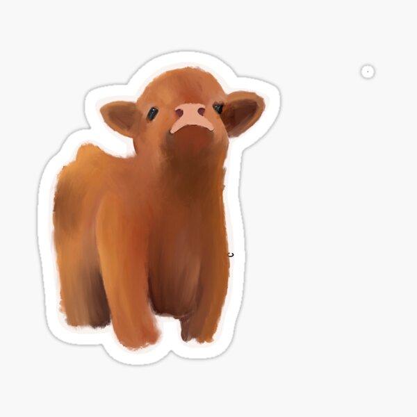 little cow  Sticker