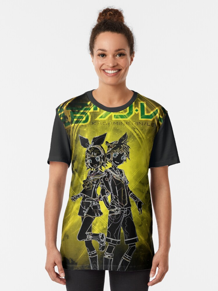 Alternate view of Project Rin x Len Awakening Graphic T-Shirt