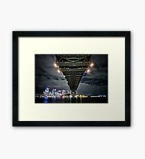 Bridge Downunder Framed Print