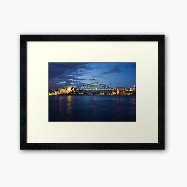 Sydney Harbour Framed Art Print