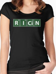 Breaking Bad Ricin Women's Fitted Scoop T-Shirt