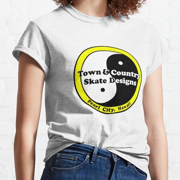 Town & Country Skate Designs Hawaii [gelb] Classic T-Shirt