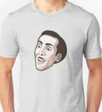 Nicolas Cage - Faces Of Awesome T-Shirt