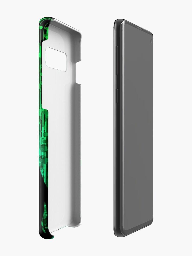 Alternate view of Stein Gate Dark Side Case & Skin for Samsung Galaxy