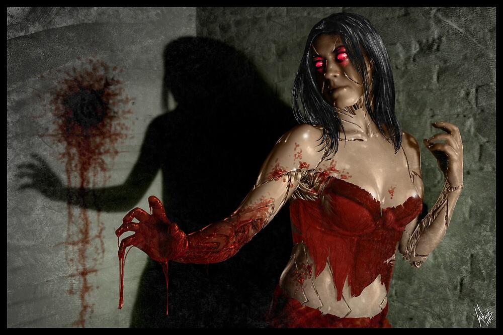 Red Right Hand 002 by Ian Sokoliwski