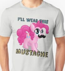 Pinkie Pie Mustache (My Little Pony: Friendship is Magic) T-Shirt
