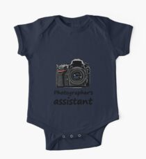 Photographer's assistant One Piece - Short Sleeve