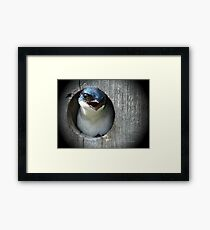 """"""" It's Your Turn To Watch The Kids """" Framed Print"""