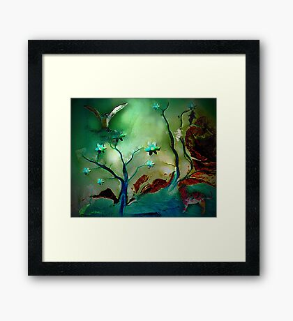 Cat in the early morning Framed Print