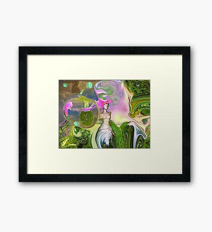 Aphrodite`s Garden - 3 Framed Print