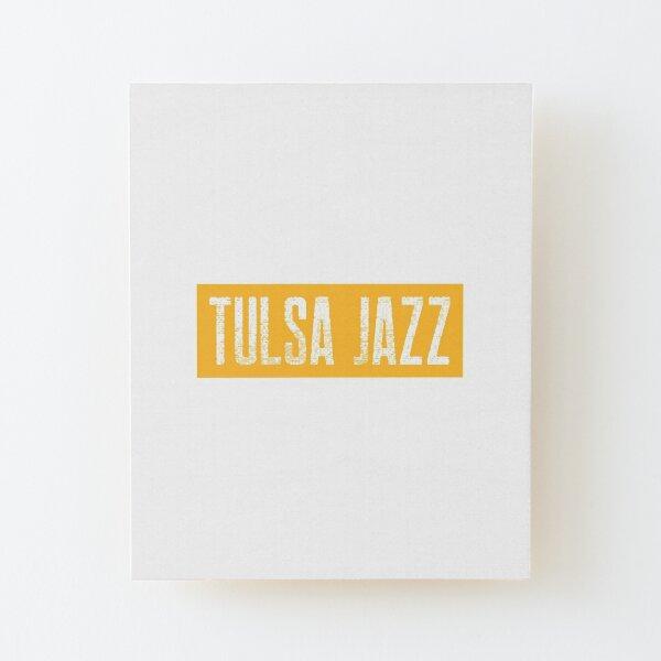 TheCoffeeCupLife: Tulsa Jazz Distressed Wood Mounted Print