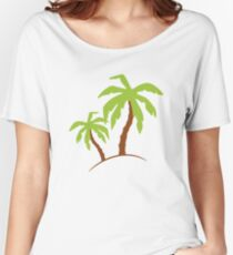 Palm Trees Women's Relaxed Fit T-Shirt