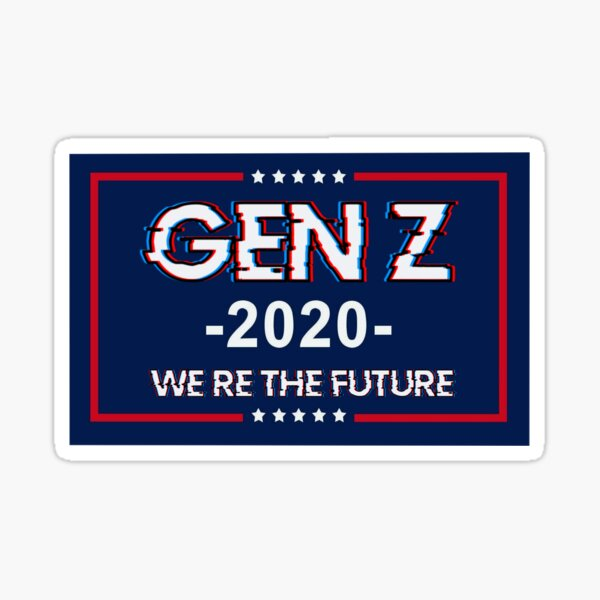 Gen Z flag  Sticker