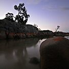 Binalong Bay Sunset by Kylie Reid