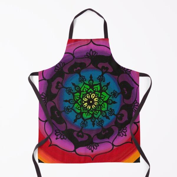 Flower Mandala Apron