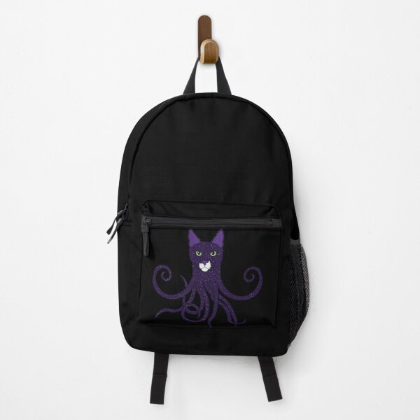 Cosmic Cat Mr Mustache as an Octopus Backpack