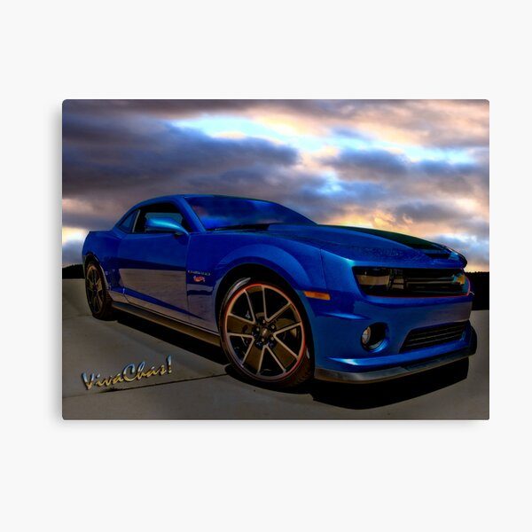 Camaro Hot Wheels Edition the Extension of Years of Consumer Marketing Canvas Print