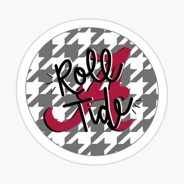 Alabama Roll Tide Houndstooth  Sticker