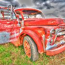 Rusty Dodge Pickup Truck by TonySlattery