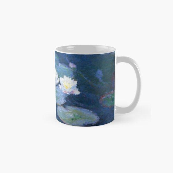 Two Water Lilies Monet Fine Art Classic Mug