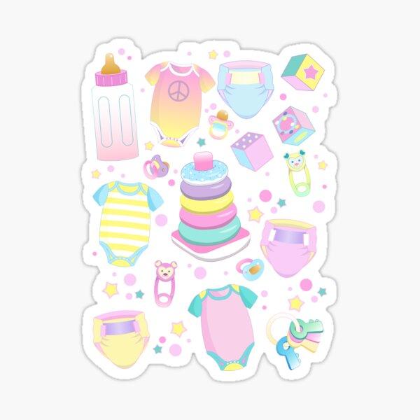 Pastel Baby Sticker