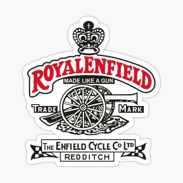 Royal enfield 01 Pegatina