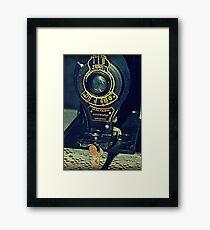 Autographic Brownie Folding Camera Framed Print