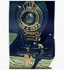 Autographic Brownie Folding Camera Poster