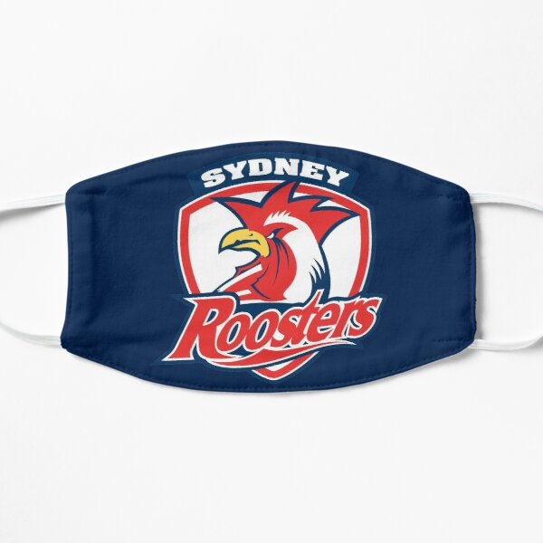 roosters-sydney  Flat Mask