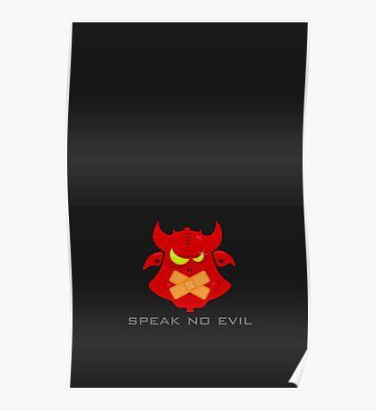 Speak no evil VRS2 Poster