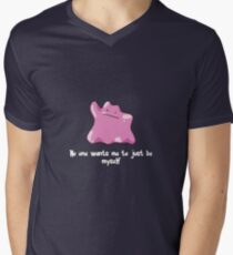 Ditto (Pokemon) Men's V-Neck T-Shirt