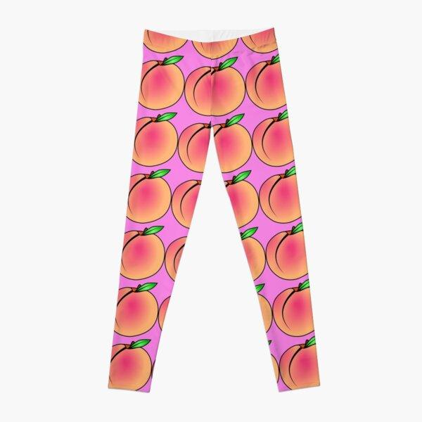 Sweet Fresh Juicy Peach Leggings