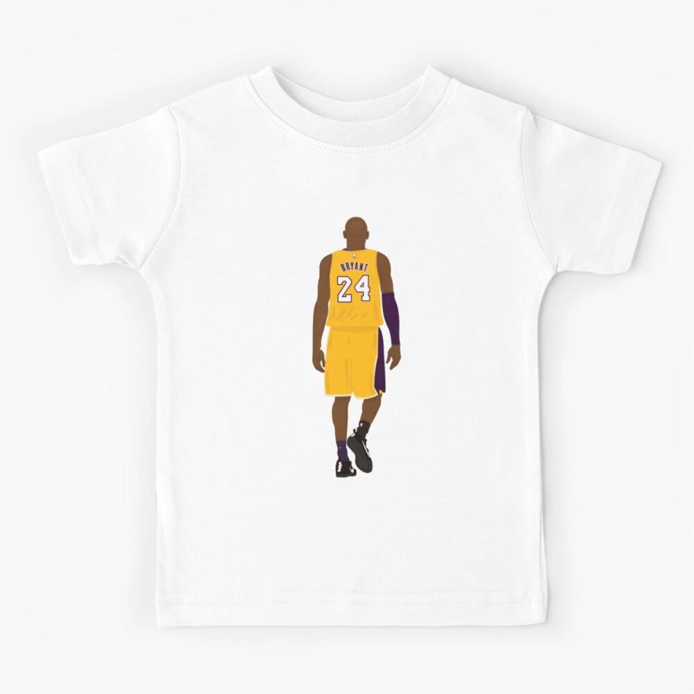 GIRLTEENBOY 2020 Kobe-Bryant Number 24 Boys/&Girls Short Sleeve T-Shirt Kobe-Bryant Teenager Unisex Short Sleeve Shirt