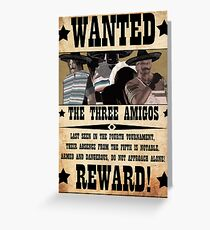 DOA5 - The Three Amigos Greeting Card