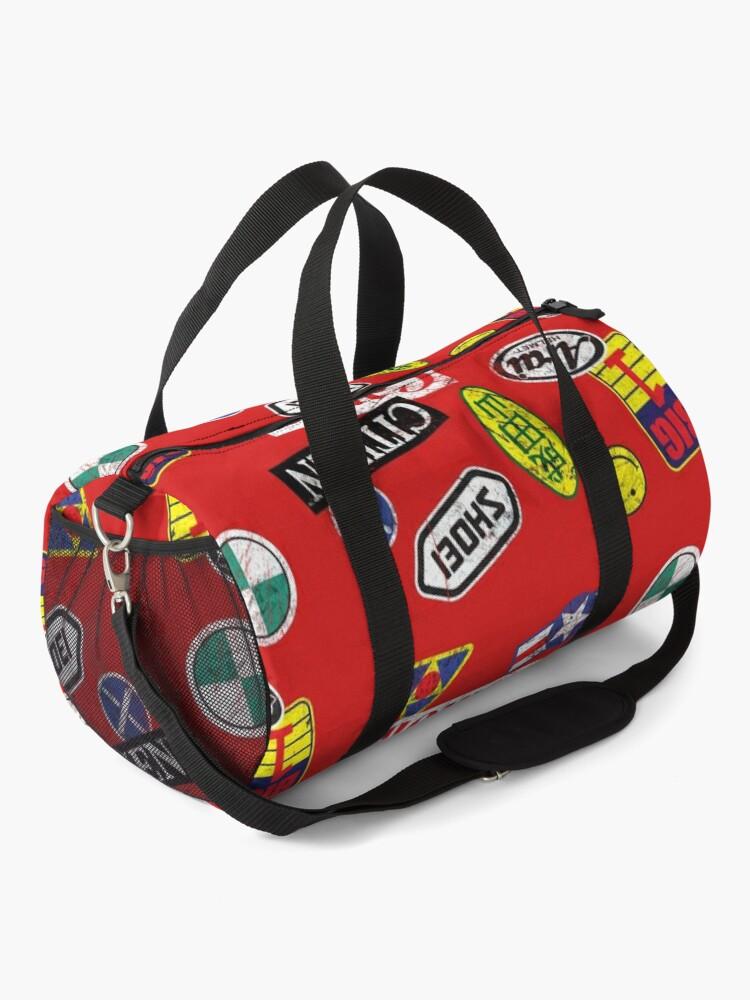 Alternate view of AKIRA stickers mask Duffle Bag