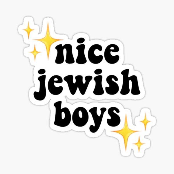 Nice Jewish Boys Sticker