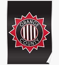 Orange County // America League // PCGD Poster