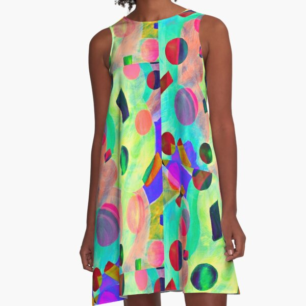Party  Time A-Line Dress