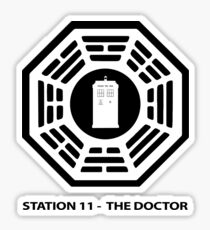 Station 11 - The Doctor  Sticker