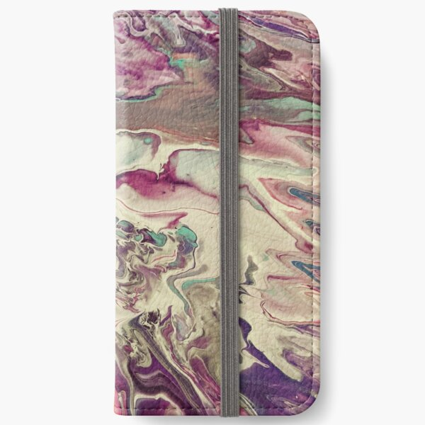 Acrylic Pour iPhone Wallet