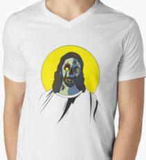 Zombie Jesus [without text] Men's V-Neck T-Shirt