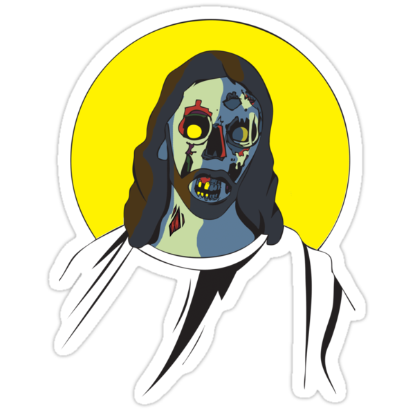 Zombie Jesus [without text] by MrPeterRossiter