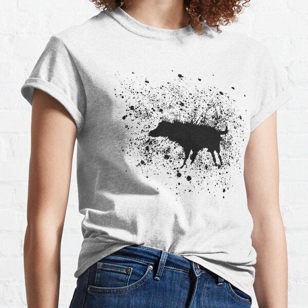 Banksy Splash Dog Classic T-Shirt