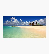 Sandy Island, Anguilla Photographic Print