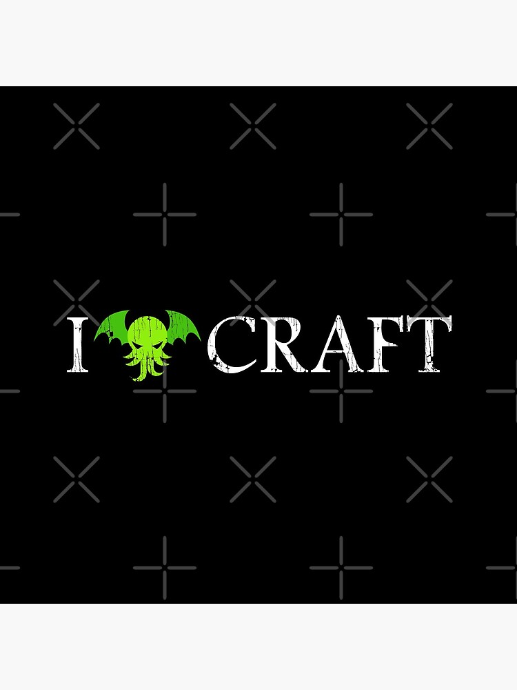 I Love Craft ✅ Cthulhu - H. P. Lovecraft  by sachpica
