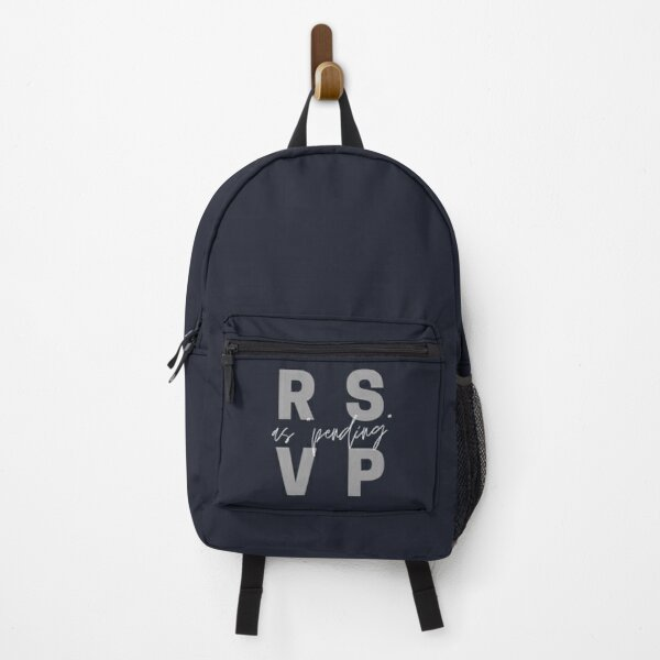 RSVP as Pending Backpack